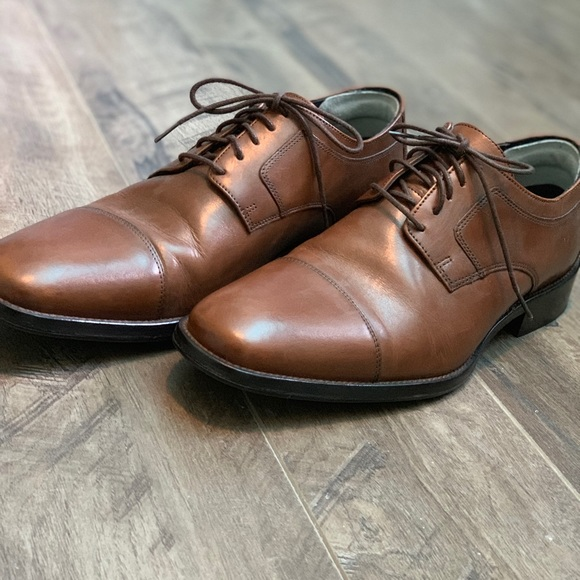 Johnston & Murphy Other - Brown Genuine Leather J. Murphy Shoes—like new!